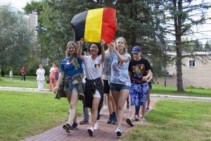 4-й летний заезд в РО(Поляны)