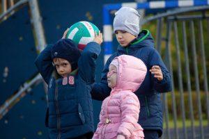Фотография детей в детском санатории Поляны